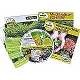 Mischkulturscheibe, Pflanzenschutzscheibe, Heckenscheibe, Gemüsescheibe, Das Gartenjahr - Paket
