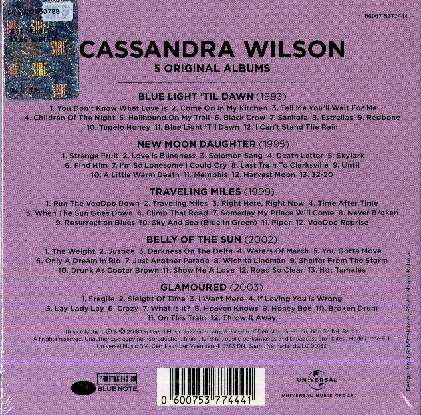 5 Original Albums - Cassandra Wilson: Amazon.de: Musik