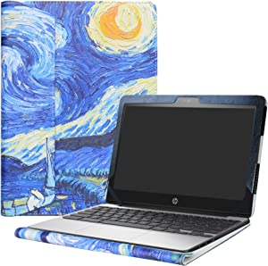 "Alapmk Protective Case for 11.6"" HP Chromebook 11 G5/HP Chromebook 11 11-vXXX & Lenovo IdeaPad 3 CB 11IGL05/Lenovo Chromebook 3 11 Laptop(Not fit HP Chromebook 11 G7 EE/G6 EE/G5 EE/G4),Starry Night"