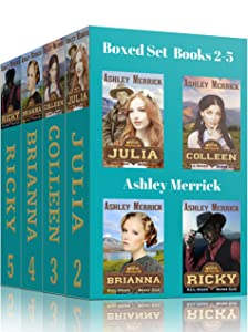 Mail-Order Brides Club Boxed Set: Books 2-5, JULIA, COLLEEN, BRIANNA, & RICKY