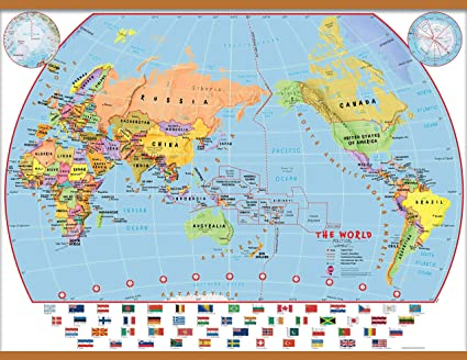 Amazon.com : Maps International Huge Elementary ... on topographic map, thematic map, different world flags, different boxes, different flowers, types of maps, different mountains, mappa mundi, different countries of the world, different map projections, different governments of the world,