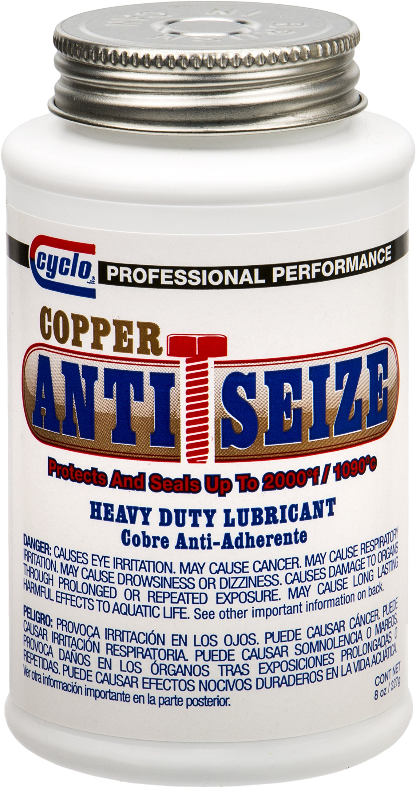 Cyclo Copper Heavy-Duty Anti-Seize Lubricating Compound - Case of 12