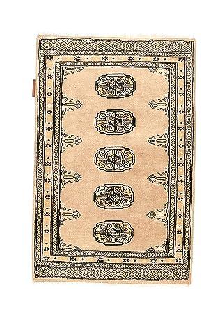 Carpetvista Pakistan Buchara 2ply Teppich 60x90 Orientteppich