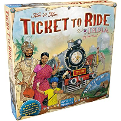 Ticket to Ride: India Map Collection Two: Toys & Games