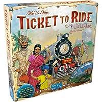 Fantasy Flight Games Ticket to Ride India Board Games