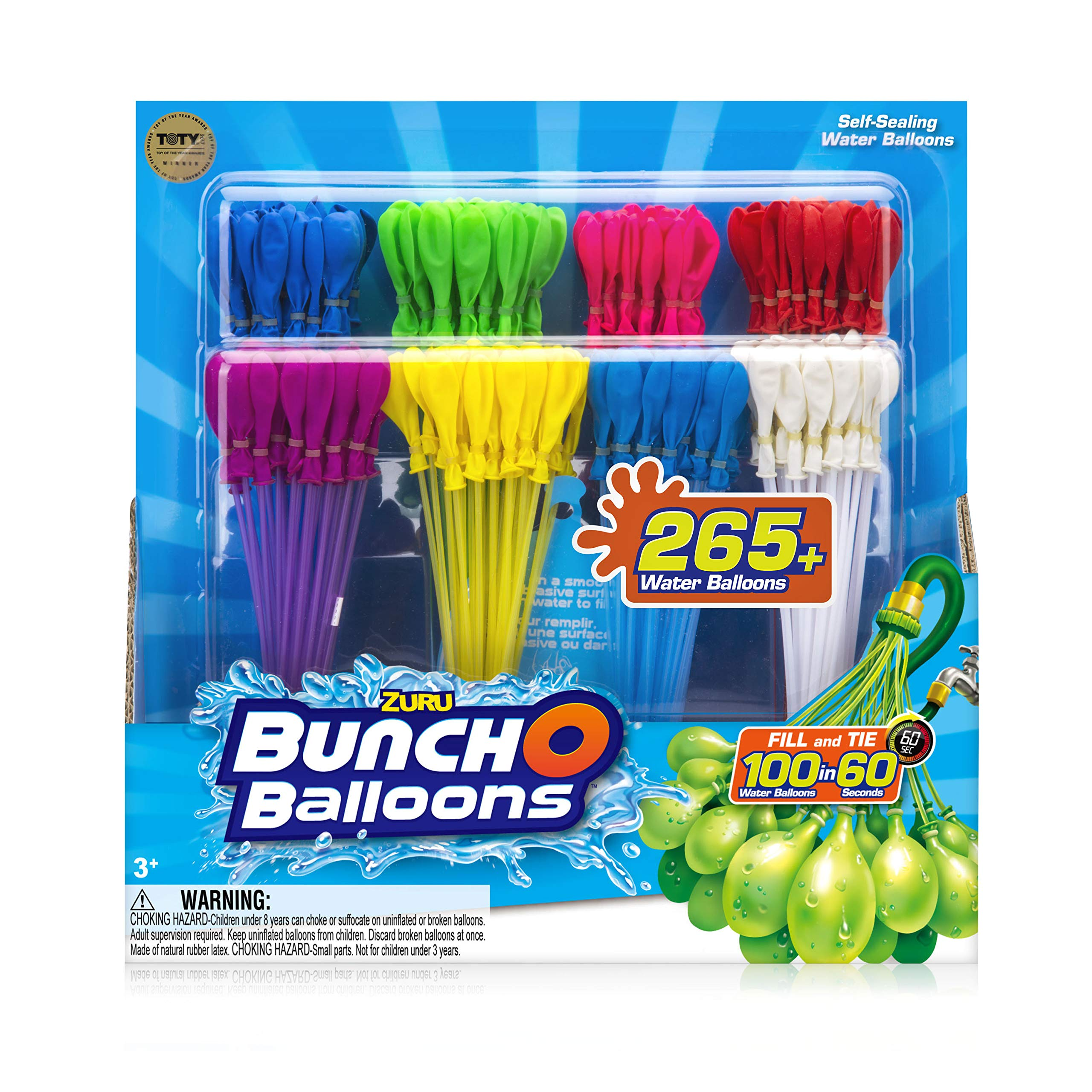 WATER BALLOONS - BUNCH OF BALLOONS RAPID REFILL 8 PACK by Bunch O Balloons