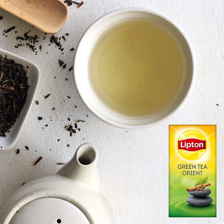 e117ea3cf7f Lipton Green Tea Tchae 25 Teabags (Pack of 6, Total 150 Teabags):  Amazon.co.uk: Grocery