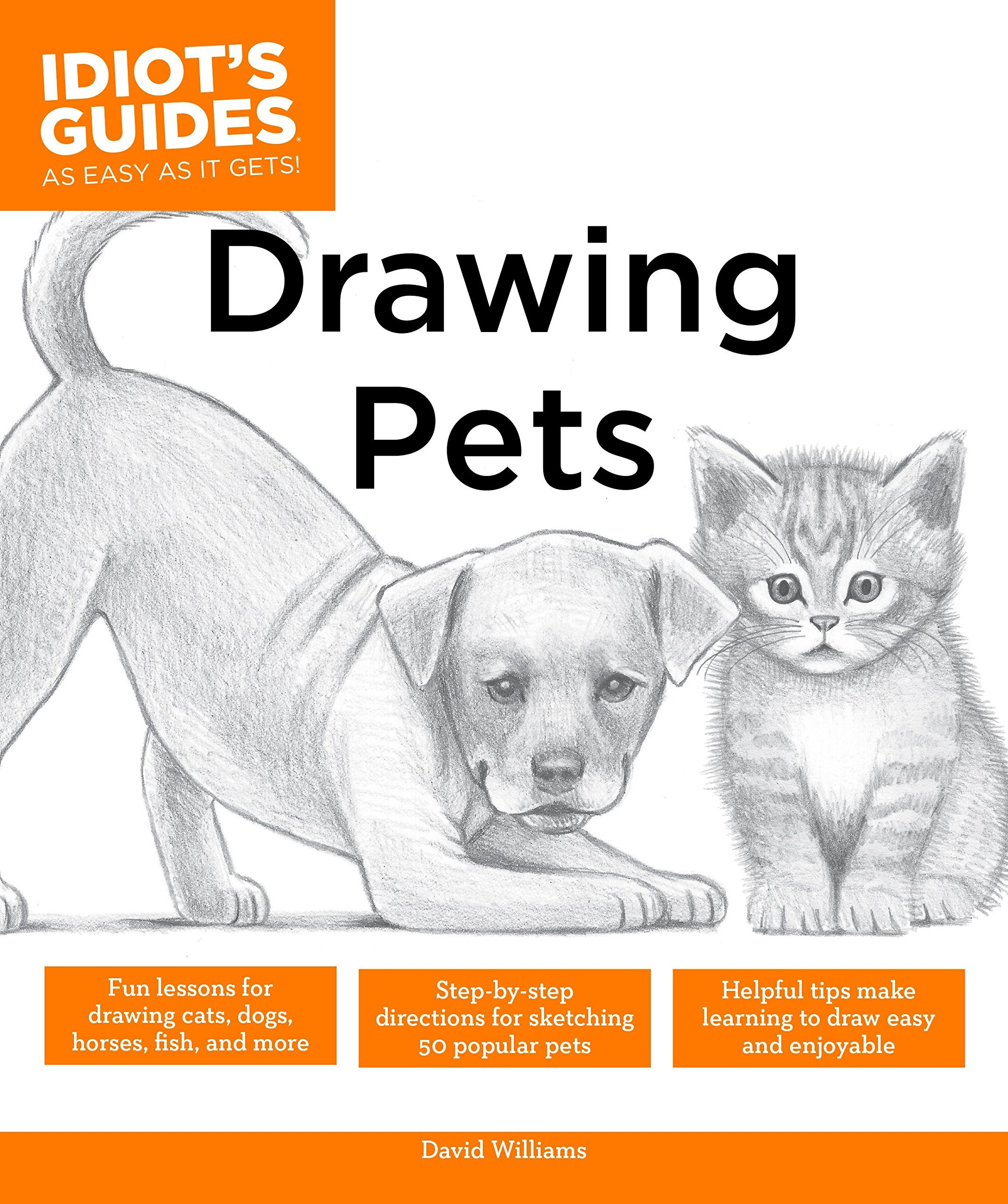 Drawing Pets Fun Lessons For Drawing Cats Dogs Horses Fish And