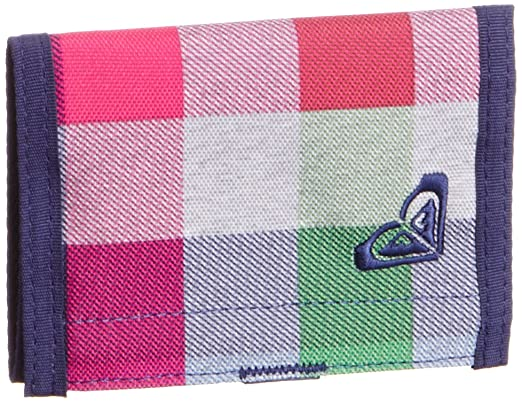 Roxy Geldbörse Small Beach X3 Cartera, Mujer, AX Fancy Plaid, Talla única