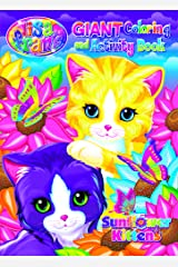 Lisa Frank Giant Coloring & Activity Book - Sunflower Kittens Perfect Paperback