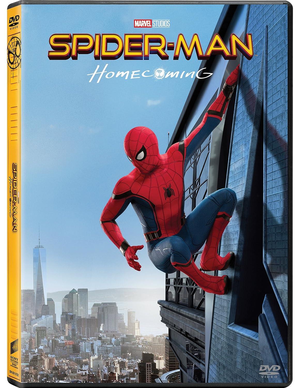 Spider-Man: Homecoming (DVD) [Italia]: Amazon.es: Robert Downey Jr, Jon Favreau, Tom Holland, Michael Keaton, Marisa Tomei, Jon Watts, Robert Downey Jr, Jon Favreau: Cine y Series TV