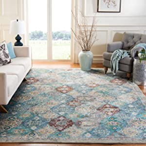 Safavieh Luxor Collection LUX329A Handmade Boho Chic Area Rug, 5'3