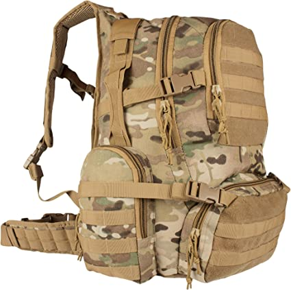 black backpack military style field operators action pack fox outdoor 56-591