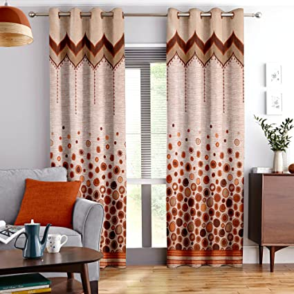 StoryHome Berry Blackout 1 Piece Jacquard Window Curtains For Living Room And Bed