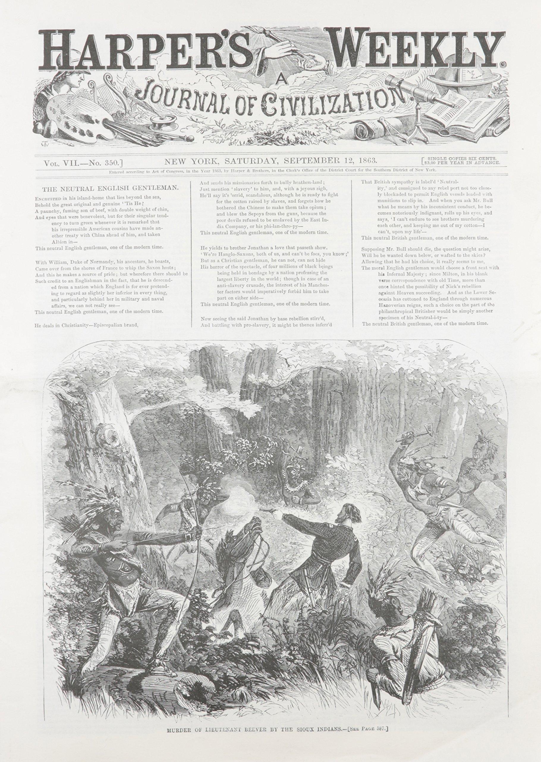 Harper's Weekly September 12, 1863 ebook