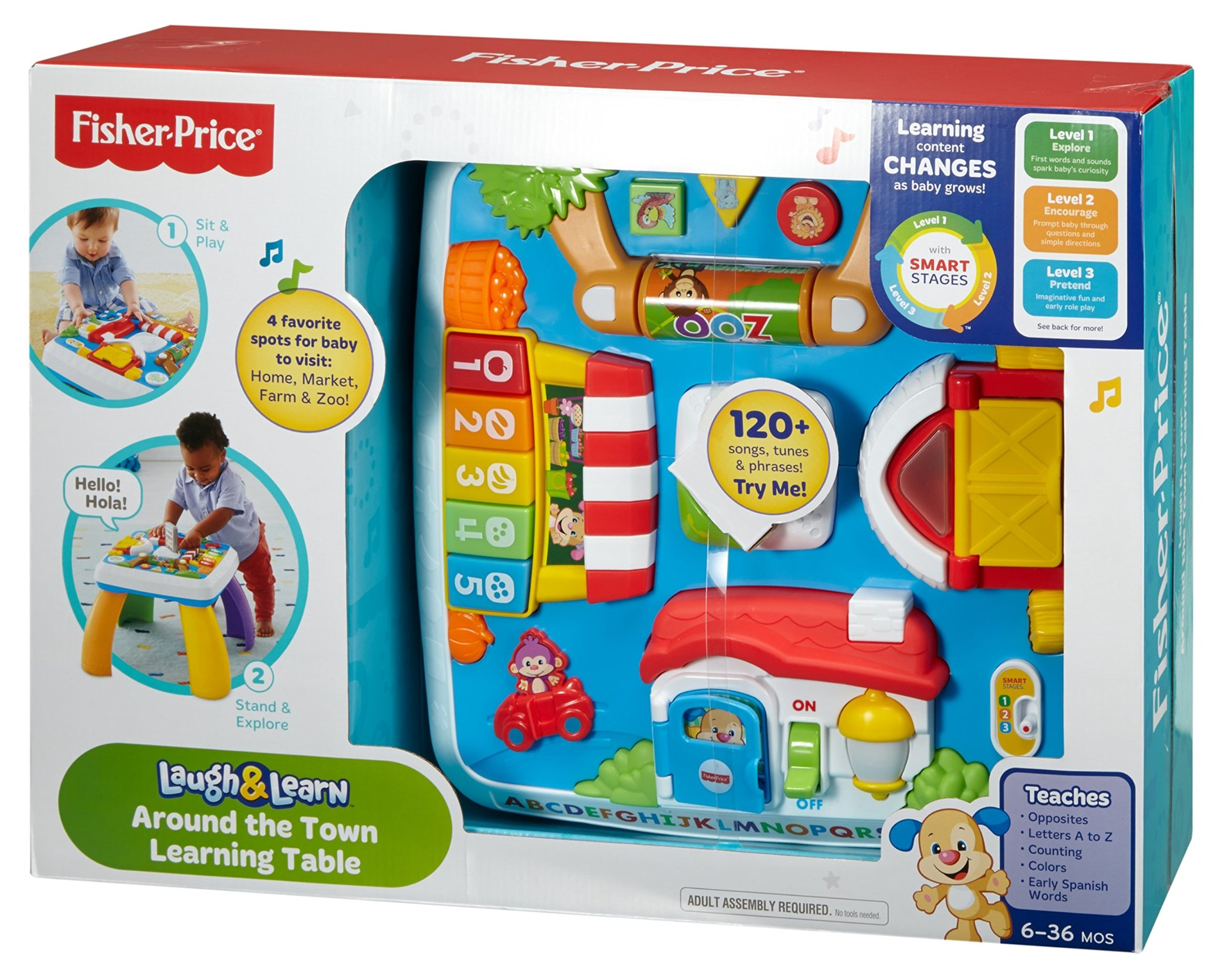 Fisher-Price Laugh & Learn Around The Town Learning Table by Fisher-Price (Image #23)