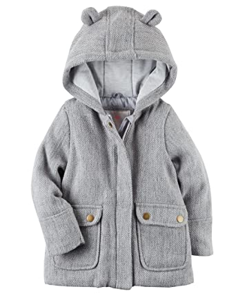 eaf795124c59 Amazon.com  Carter s Baby Girl Peacoat  Clothing