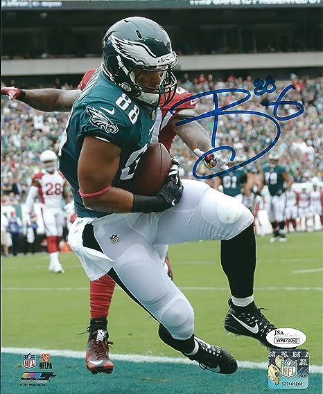 31c0f930 Autographed Trey Burton 8x10 Philadelphia Eagles Photo JSA at ...