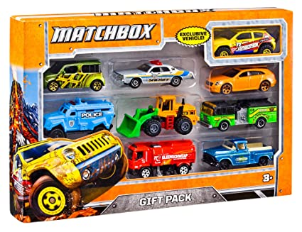 Review Matchbox 9-Car Gift Pack (Styles May Vary)