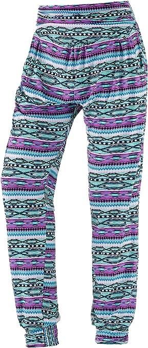 6cb932122d Lascana Beach Trousers mint-fuchsia Size:36 (EU): Amazon.co.uk ...