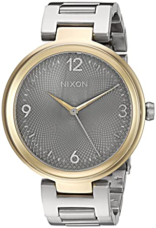d582ace92d9 Image Unavailable. Image not available for. Color  Nixon Women s   Chameleon  Quartz Metal and Stainless Steel Watch