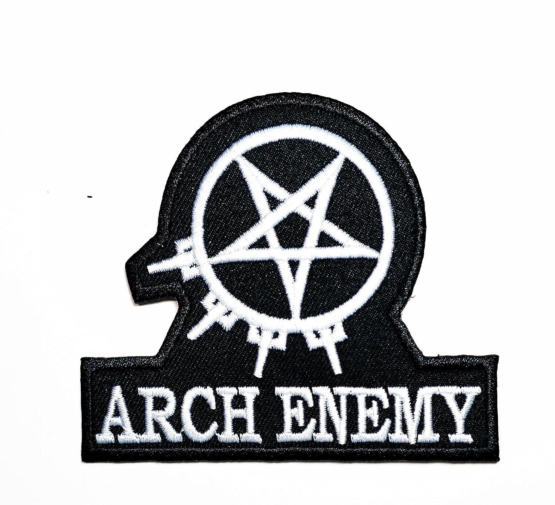 Amazon White Black Arch Enemy Music Band Heavy Metal Punk Rock