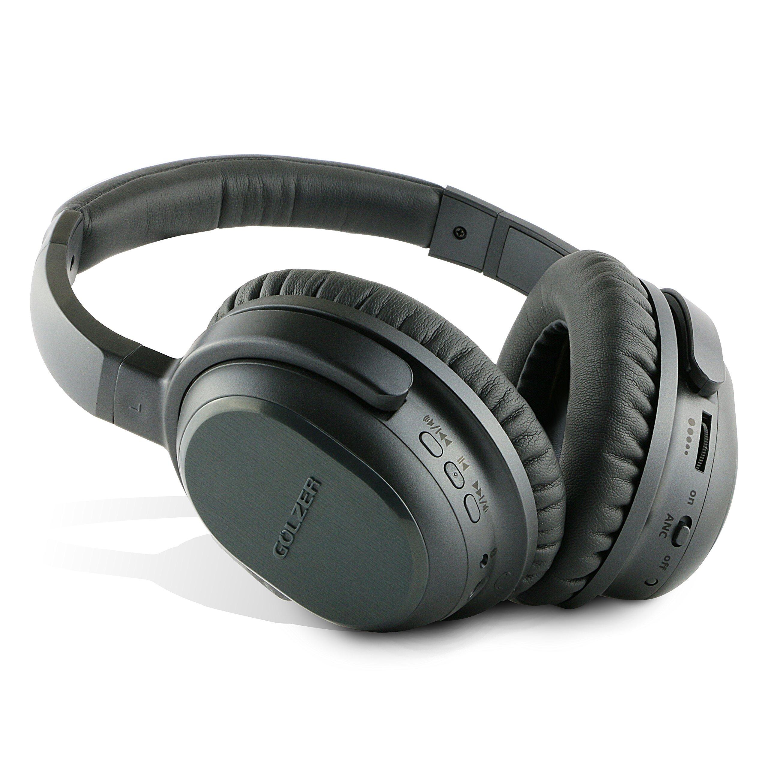 Auriculares Golzer BANC-50 Bluetooth 4.1 High Fidelity Cancelacion de Ruido Activa Inalambrico OverEar con apt-x