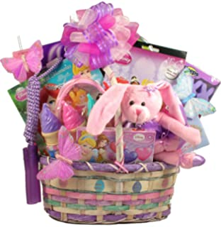 Gift basket disney princess themed 10 jewelry cosmetics items gift basket village a pretty little princess easter gift basket for girls negle Choice Image
