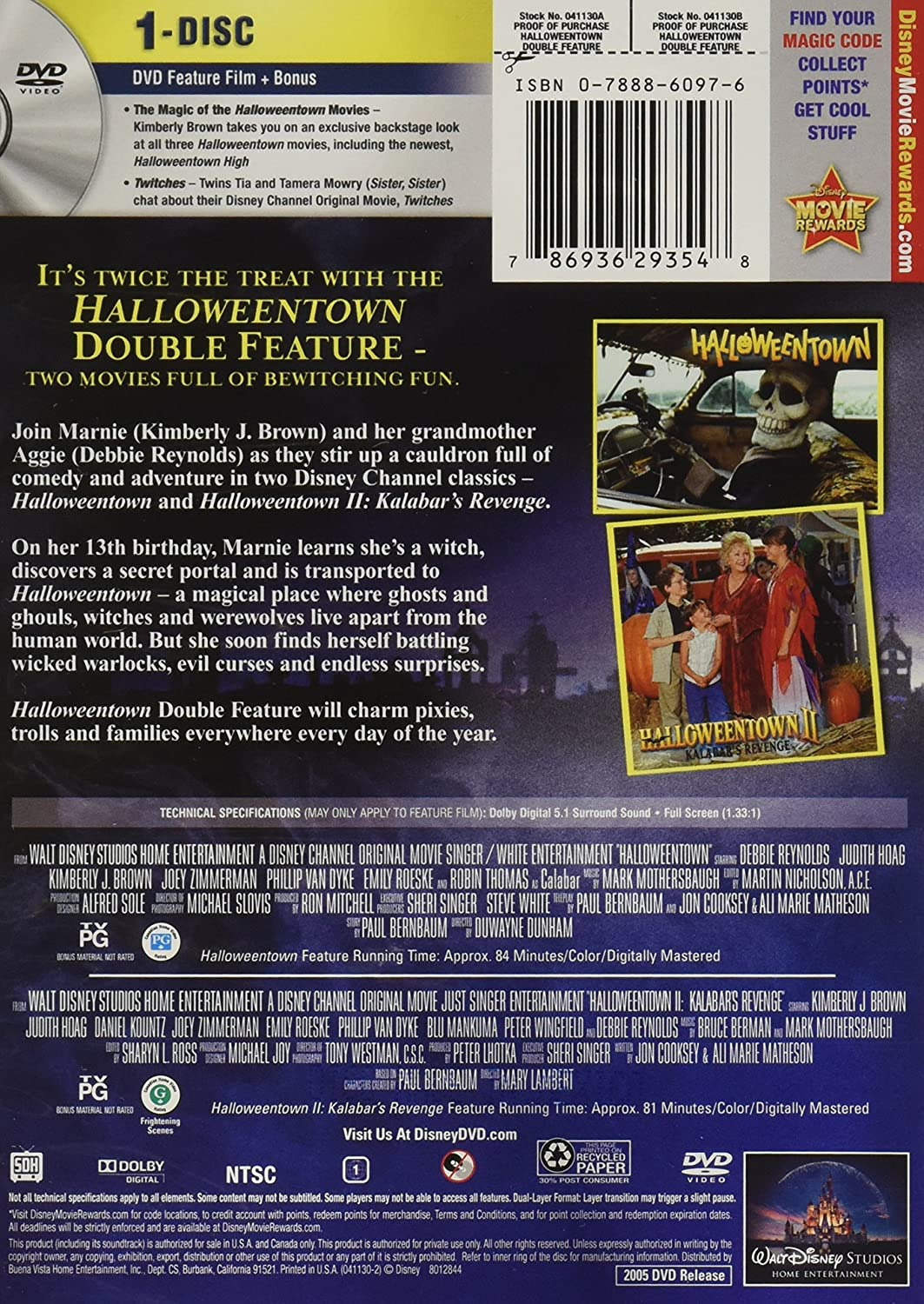 amazoncom halloweentown double feature full frame cell phones accessories