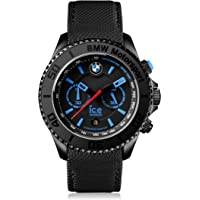 Ice BMW 53mm Motorsport Black Dial Men's Chronograph Watch (Black)