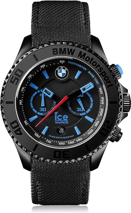 MotorsportsteelBlack Ice Schwarze Mit Watch Bmw Herrenuhr n0mNwvO8