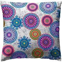 Martina Home - Funda de cojin MIKONOS, color LILA, medida 40 x 40 cm.