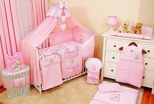 Conjunto de ropa de cama para cuna de bebé, 100% algodón, conjunto ...