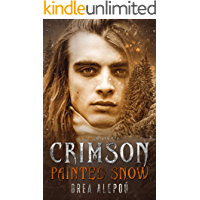 Crimson Painted Snow: A Dark Paranormal MMM+ Romance (Grim and Sinister Delights Book 8) book cover