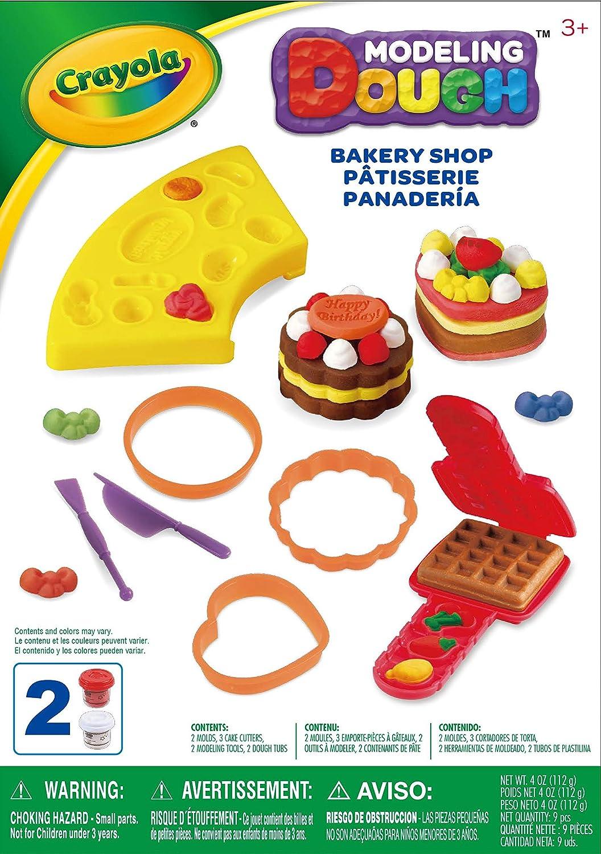 Crayola Modelling Dough A1-1009 Bakery Shop Assorted