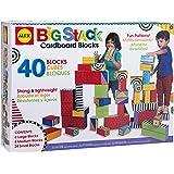 ALEX Toys Big Stack Cardboard Blocks