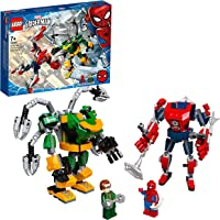 LEGO 76198 Marvel Spider-Man & Doctor Octopus Double Mech Battle Building Set, Superhero Action Figure Playset for 2