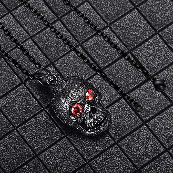 Feilok Collier en acier inoxydable avec pendentif ancre en forme dancre et cha/îne pour homme