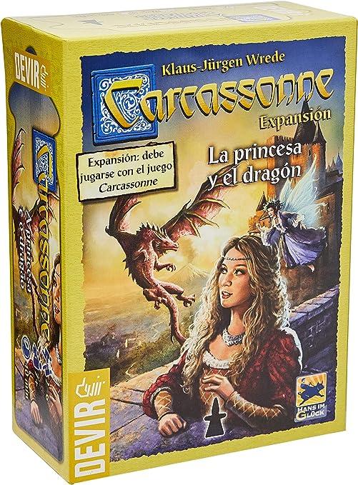 Devir - La princesa y el dragón, juego de mesa (BGCARPRI): Amazon ...