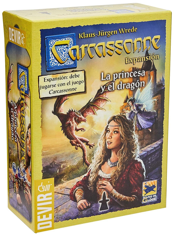 Carcassonne La Princesa y el dragónhttps://amzn.to/2KY0PGT