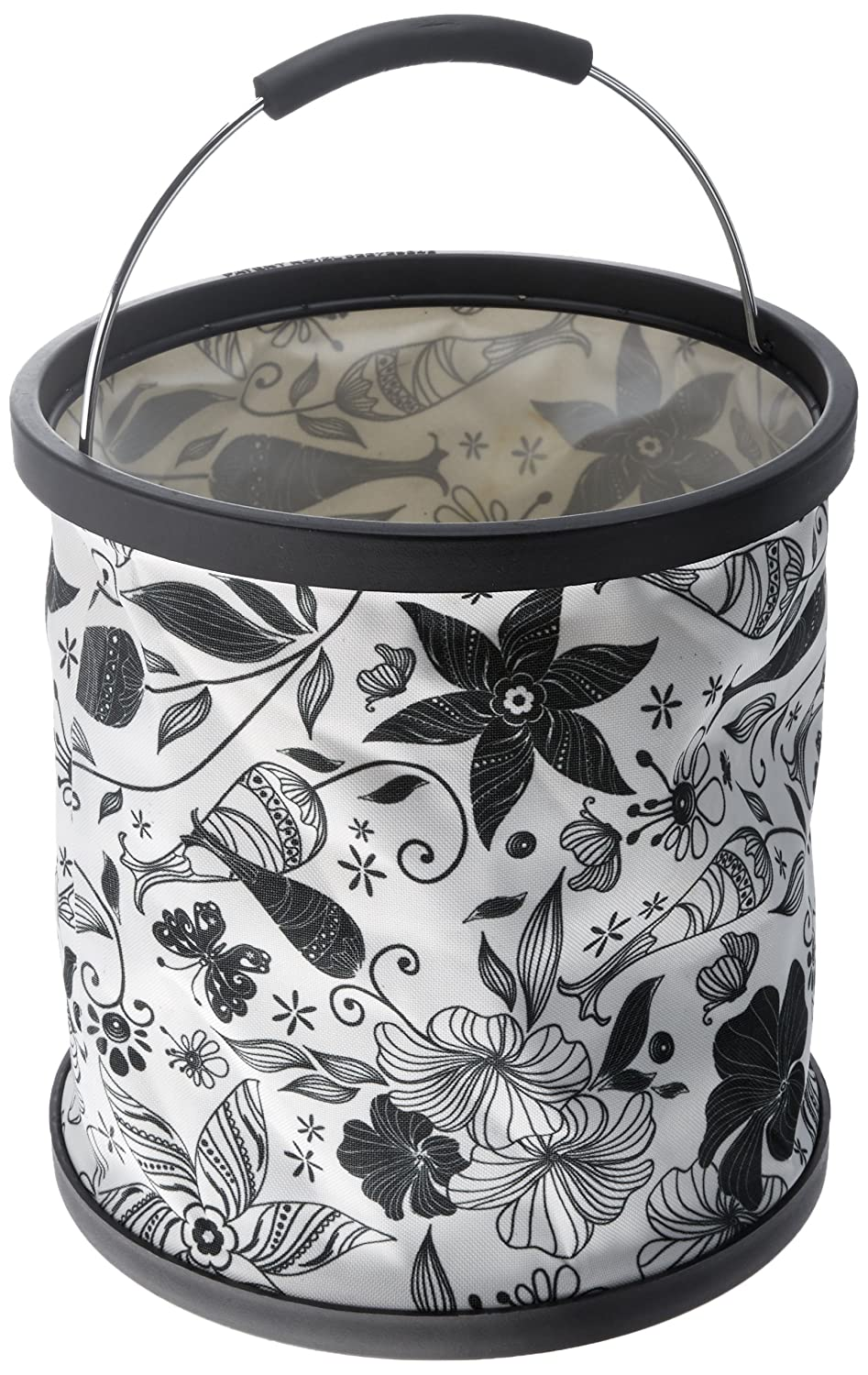 Black and White Star Kitchen PBBW Presto Buckets 2.9-Gallon
