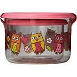 Sugarbooger Good Lunch Small Snack Container, Hoot, 2 Count