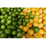 Kejora Fresh Lemons + Fresh Limes Bundle ( 3 lb lemon + 3 lb limes )