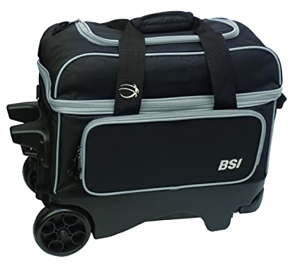 Amazon.com: BSI Rueda Grande doble – Bolsa con Ruedas, Color ...