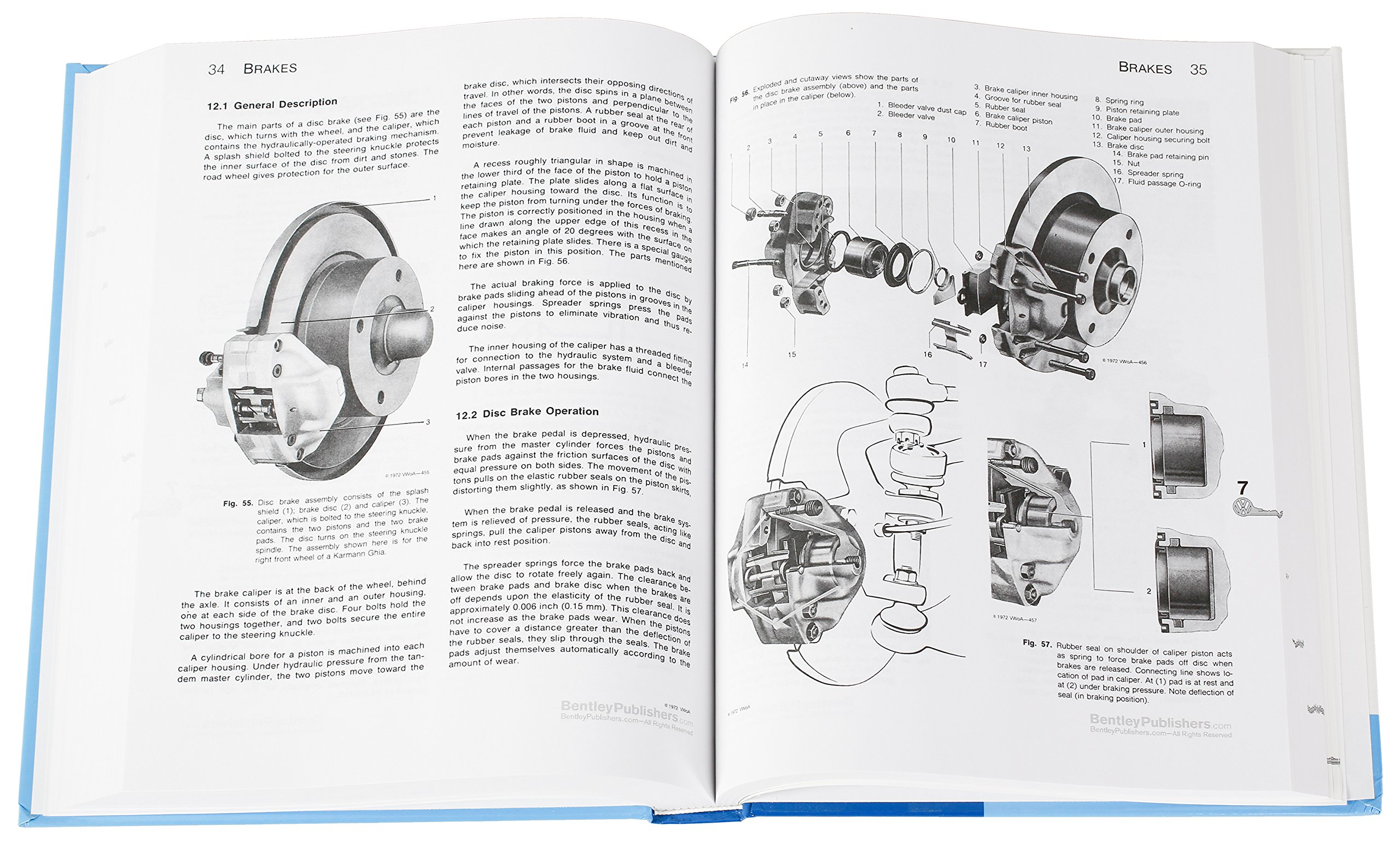 Volkswagen Beetle And Karmann Ghia Official Service Manual Type 1 Wiring Electric Oven Uk Free Download Diagrams Pictures 1966 1967 1968 1969 Bentley Publishers 9780837616469 Books