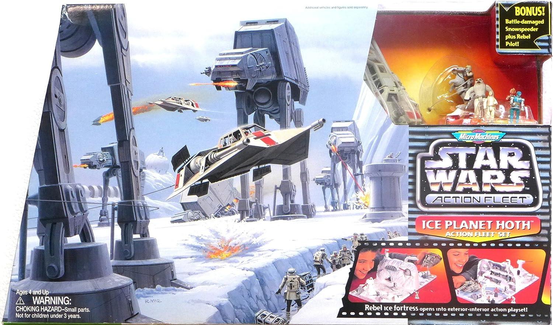 Star Wars Micro Machines Action Fleet PRINCESS LEIA Figure Ice Planet Hoth 1996