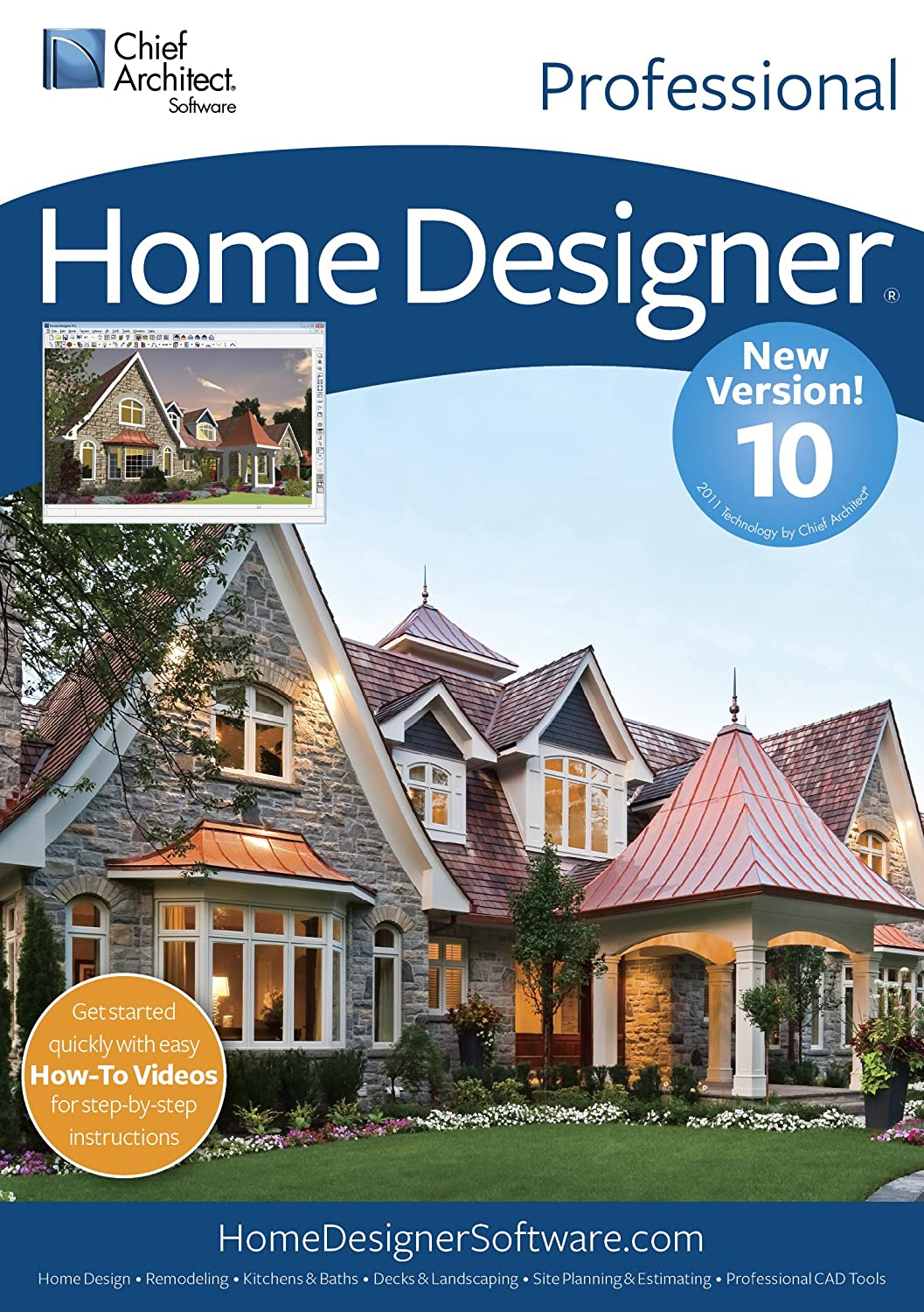 Amazoncom Chief Architect Home Designer Pro 10 Download Software