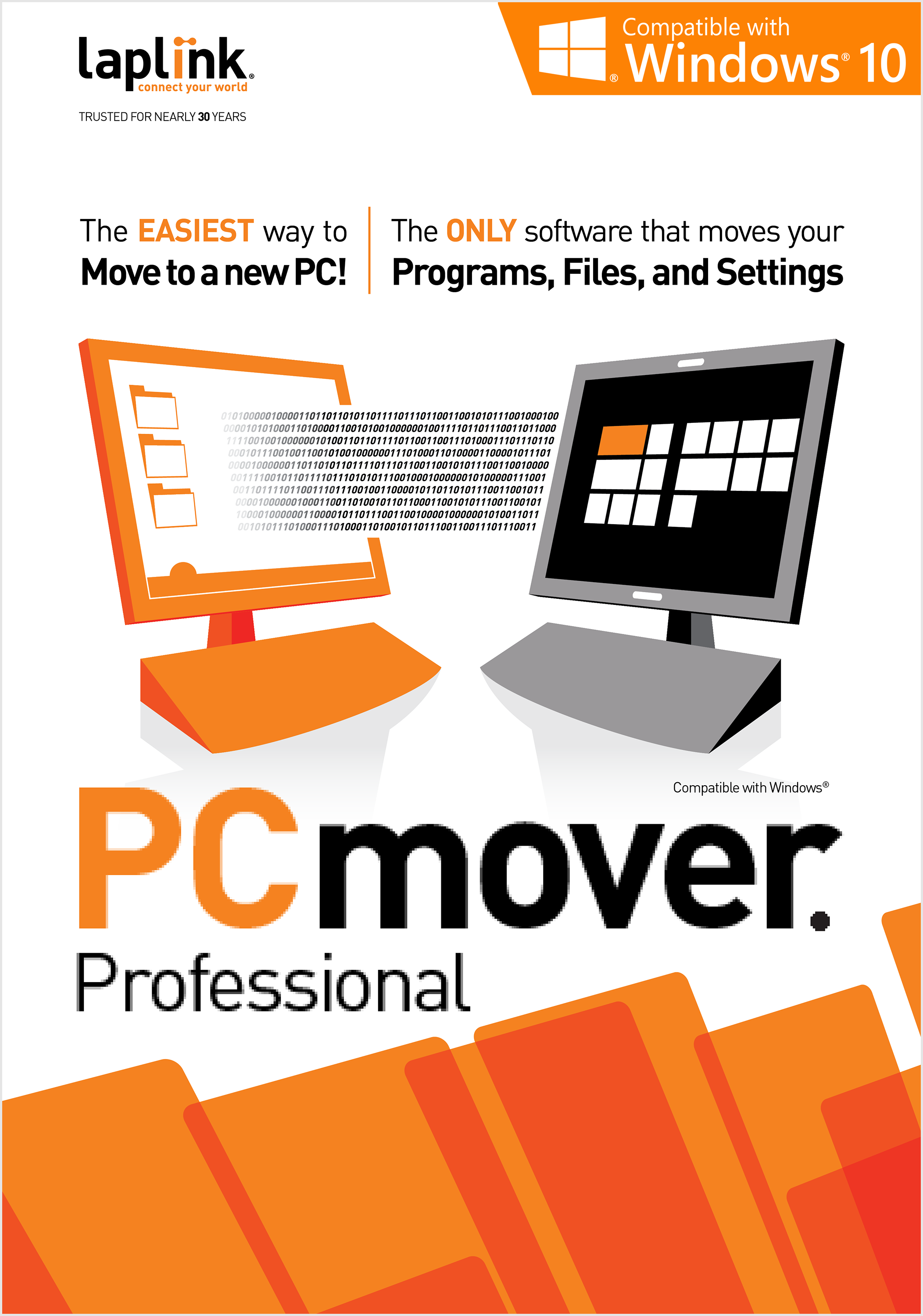 Laplink PCmover Professional 10 - 2 Use [Download]