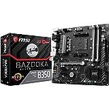 MSI Motherboard B350M BAZOOKA AMD B350 Chipset AM4 DDR4 Memory 1 x PCI Express 3.0 x 16 Micro ATX Retail