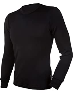 da05dd50 Janus 100% Merino Wool Men's Underwear Long Sleeve T-Shirt Made in Norway